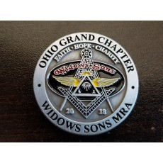 Ohio Widows Sons Challenge Coin